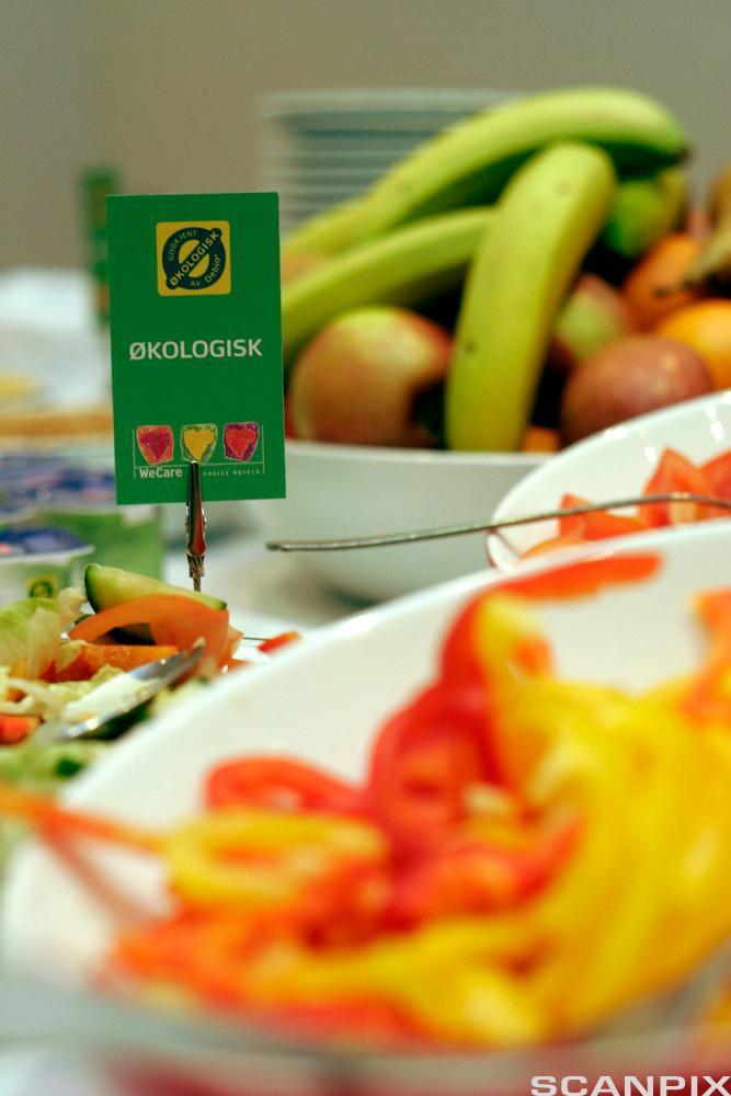 bilde av en økologisk frokost