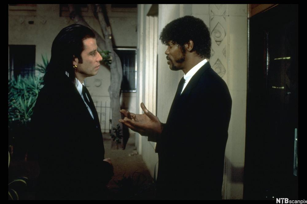 John Travolta og Samuel L. Jackson i Pulp Fiction