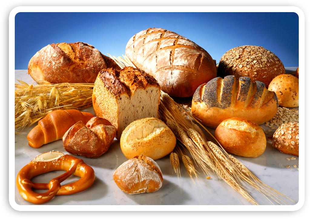 Matvaregruppe: brød og kornvarer.Foto.