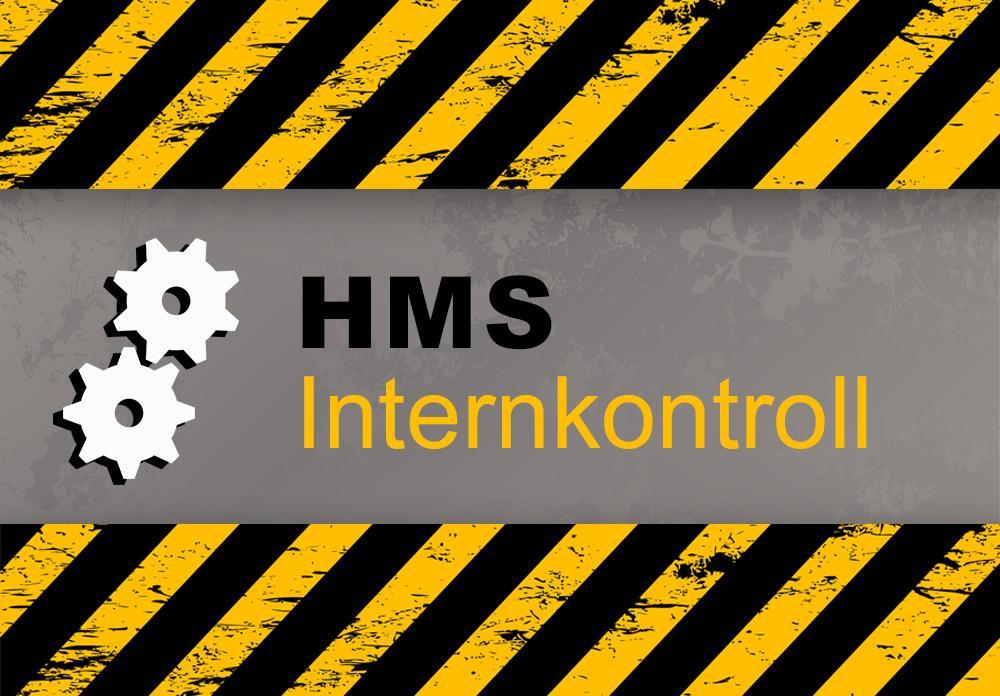 """Illustrasjonsbilde med innbrent tekst: """"HMS: Internkontroll""""."""