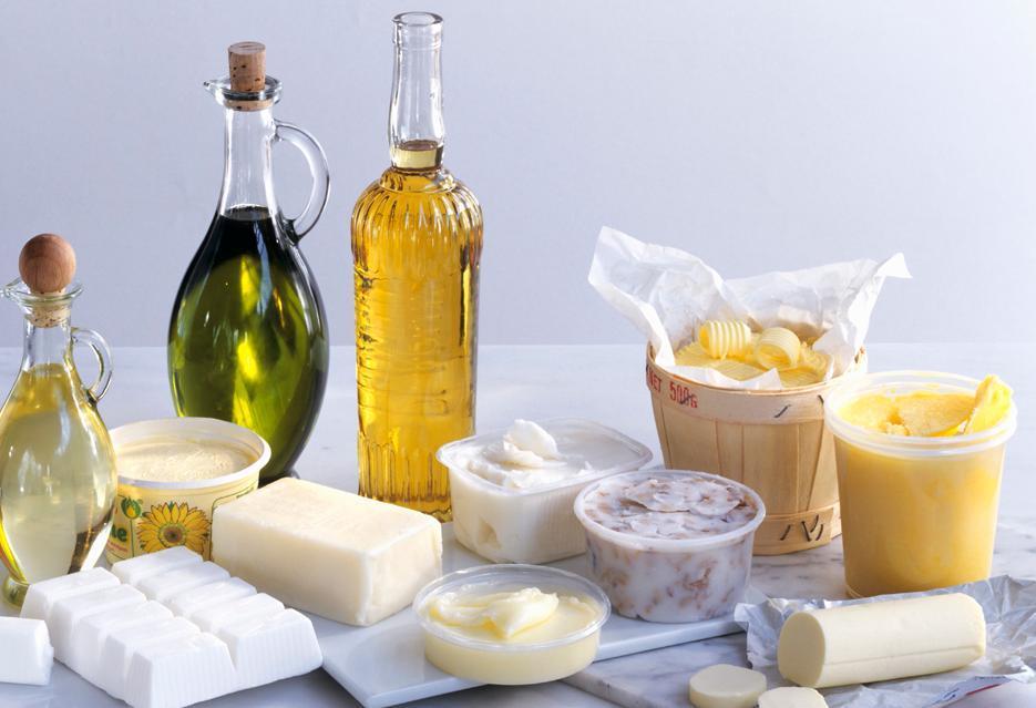 Matvaregruppe: smør, margarin og olje
