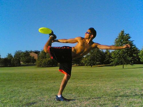 frisbee fristyle.foto.