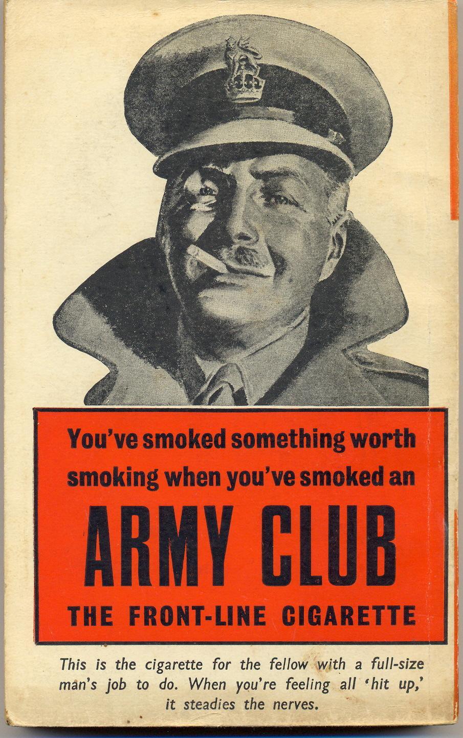 Engelsk sigarettreklame fra 1940-tallet