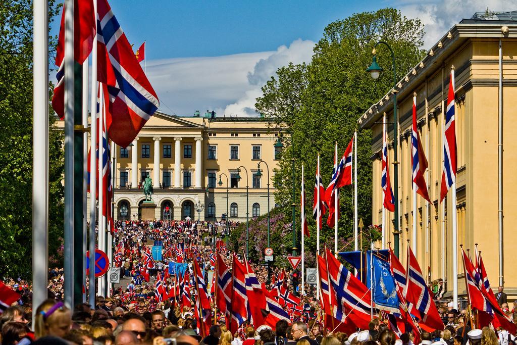 17. mai i Oslo. Foto.