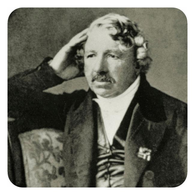 Portrett av Louis Jacques Daguerre