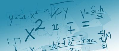 Bannerbilde for temaet tall og algebra i faget 1T. Bilde.