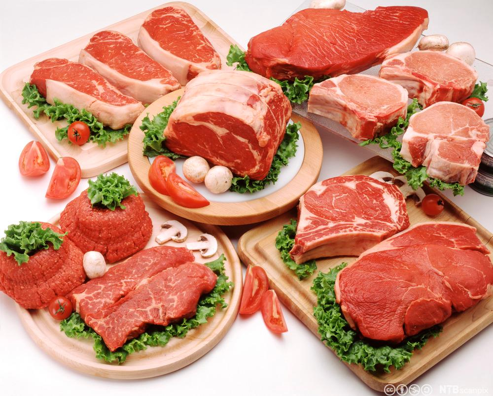 Rå kjøttvarer