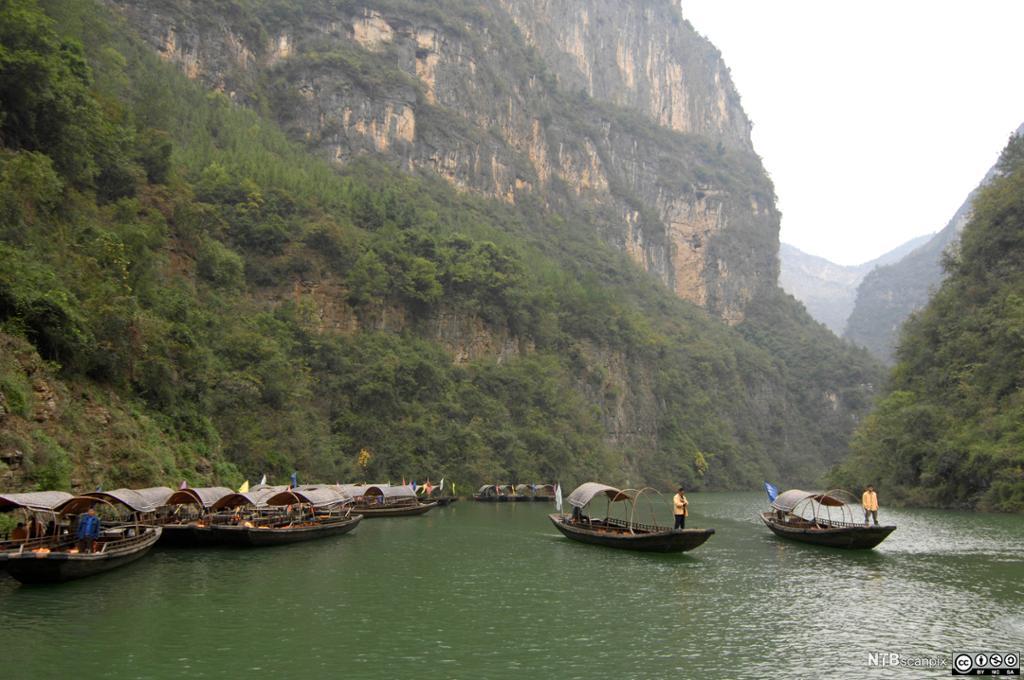 Båter på Yangtze