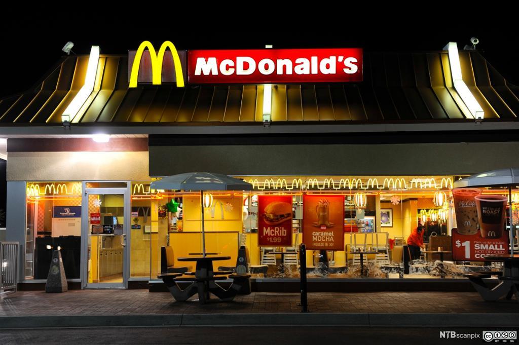 Bilde av et McDonald's-skilt.