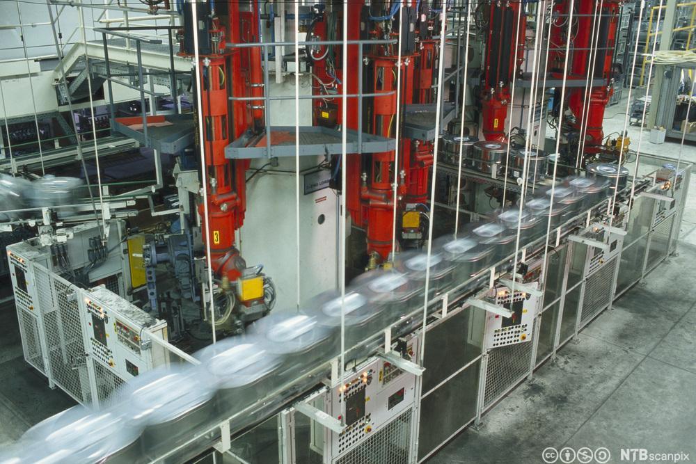 Motor drevet av PLS. Foto.