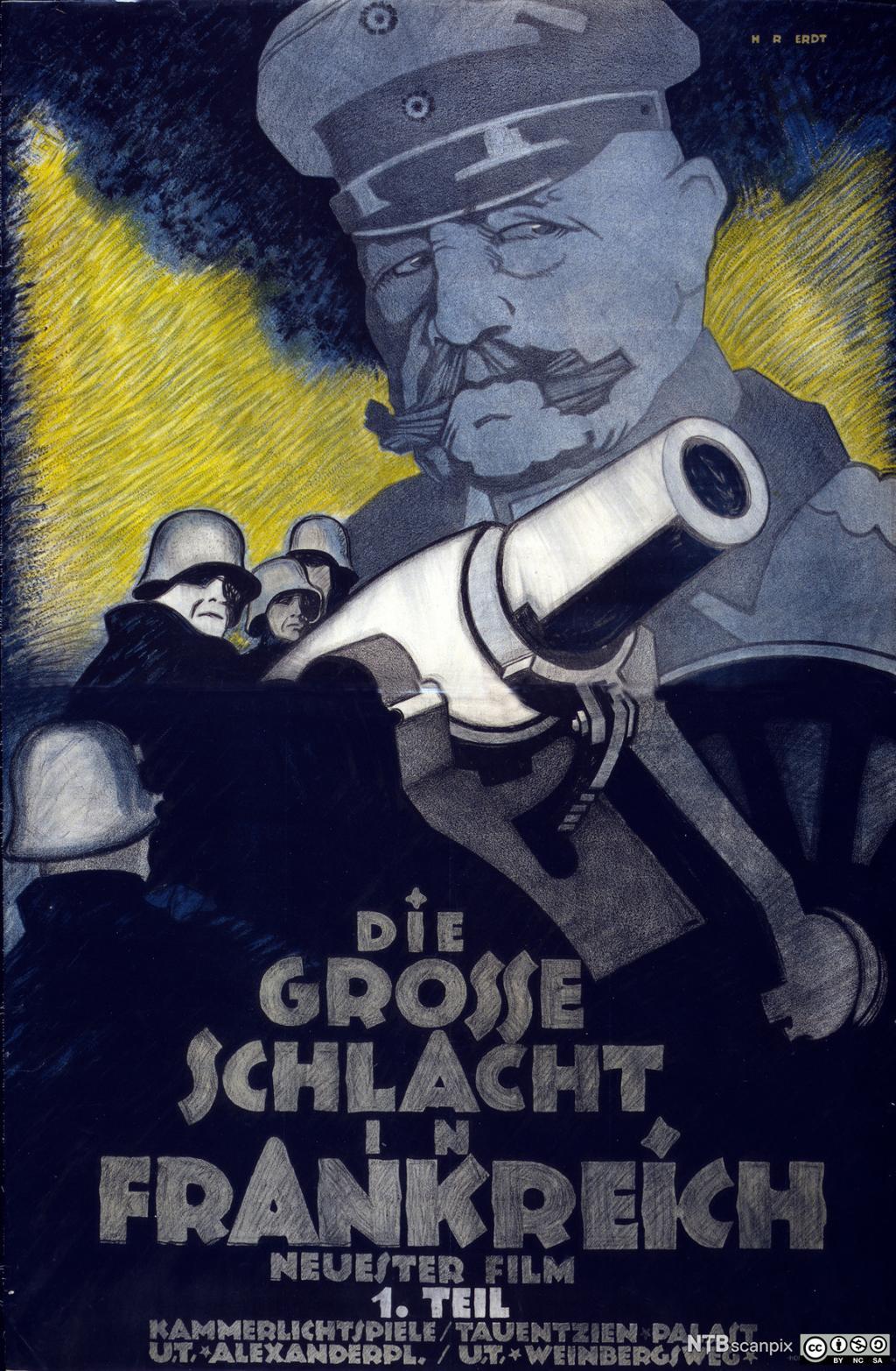 Tysk propagandafilm fra 1. verdenskrig