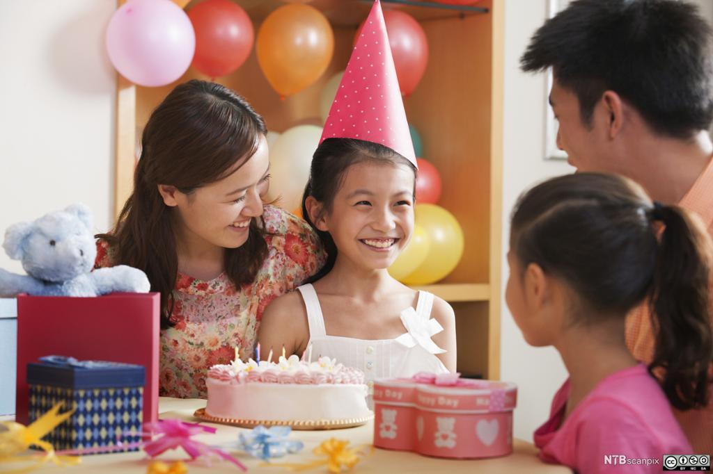 I dagens moderne Kina har bursdagsfeiringer blitt mer like bursdagsfeiringer andre steder i verden.