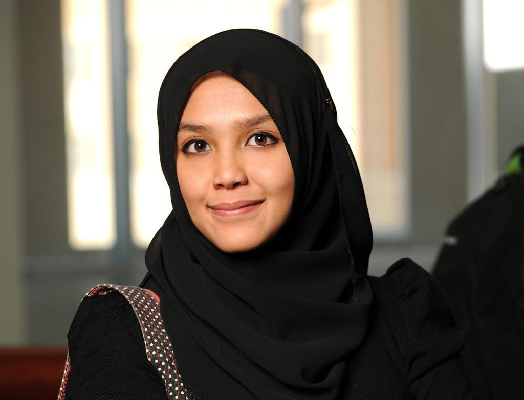 Muslimsk kvinne. Foto.