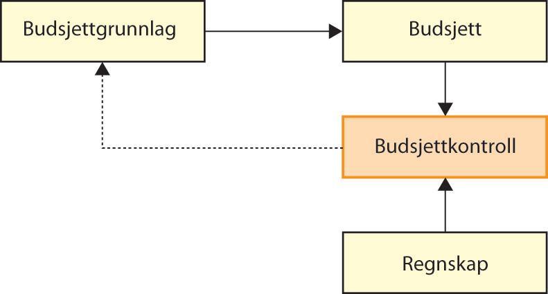 Budsjettkontrollens rolle i forhold til budsjett og regnskap