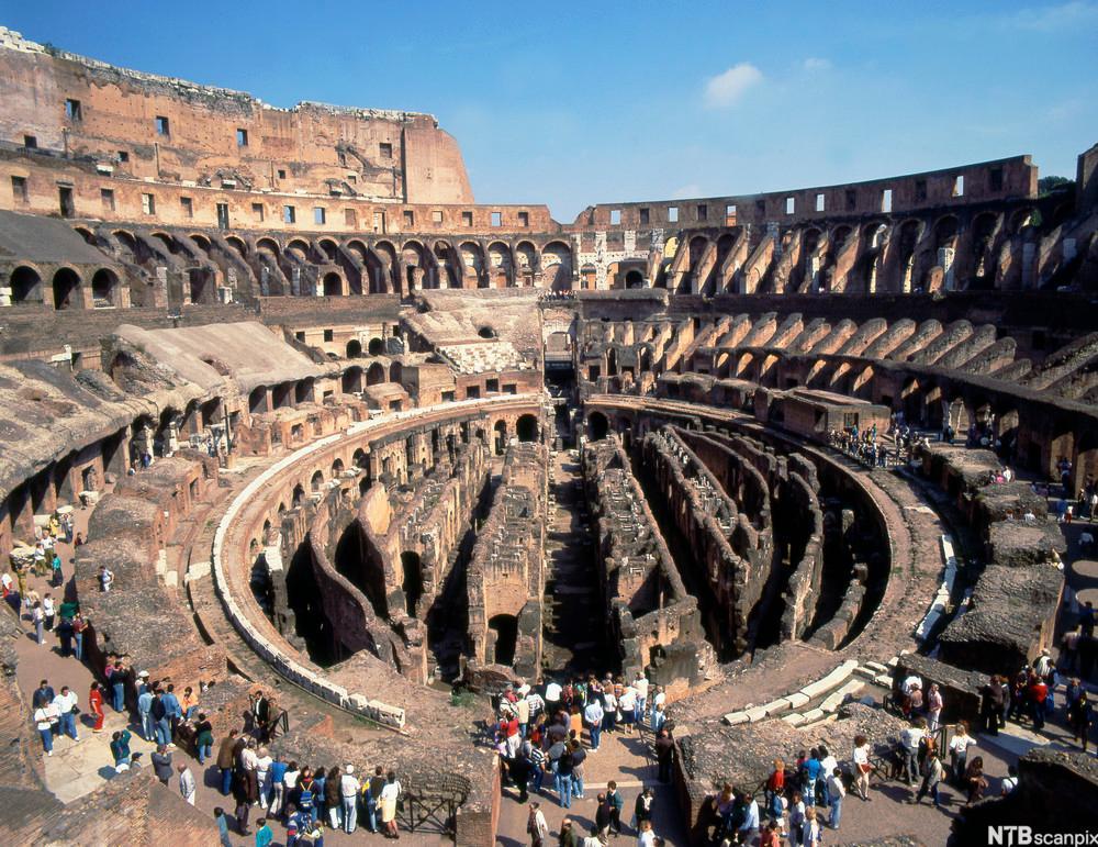 Colosseum i Roma. Foto.