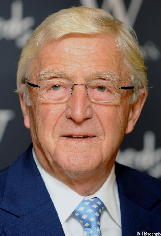 British Talk Show Host Michael Parkinson