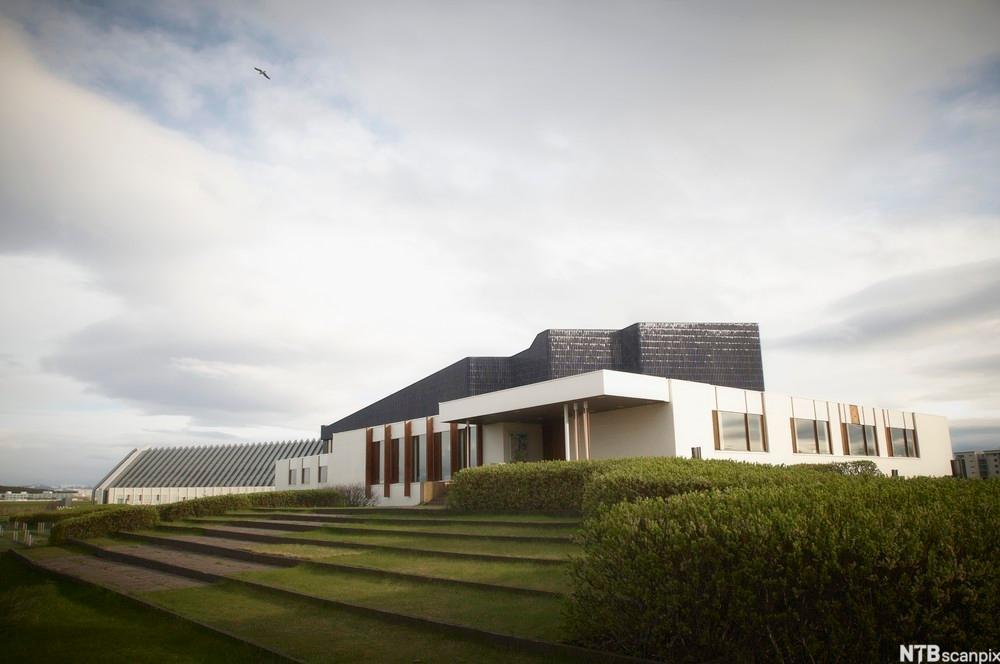DILL restaurant på Reykjavik designet av finske Alvar Alto.