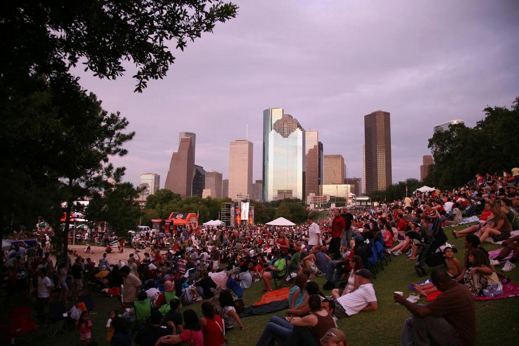 4th July Houston Texas