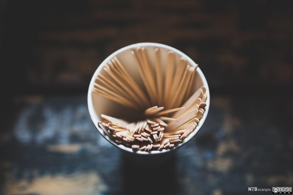 Bilde av rørepinner til kaffe