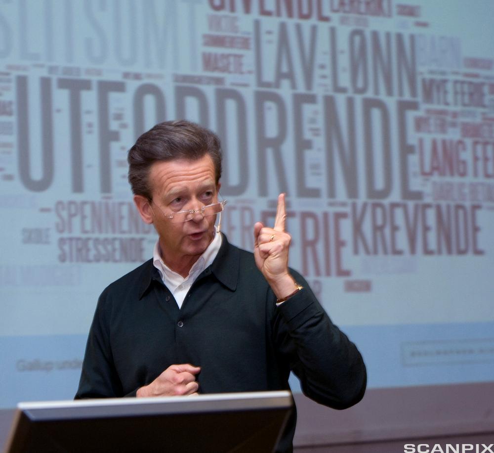Hans Geelmuyden, en kjent norsk PR-rådgiver. Foto