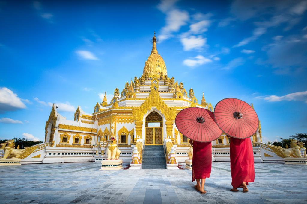 Swe Taw Myat Pagoda i Yangon