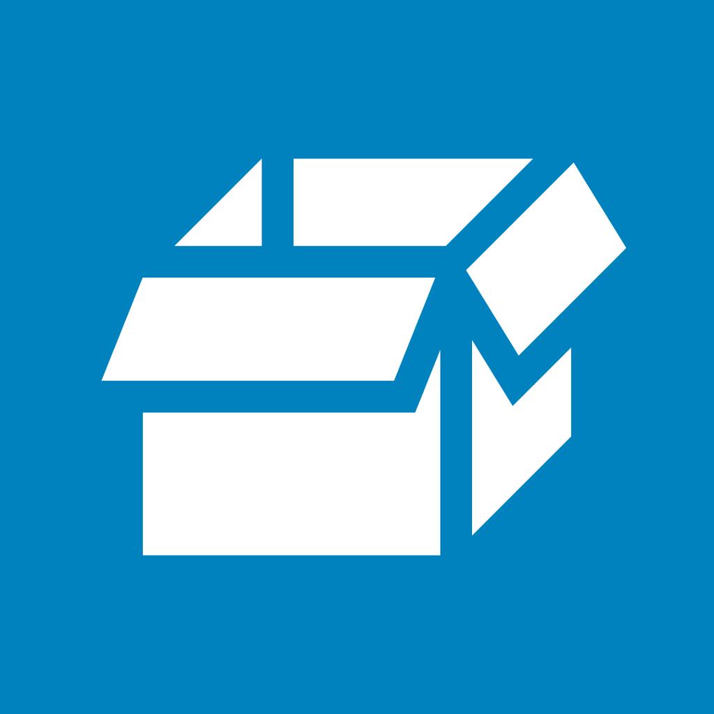 Emballasjemerke for papp. Piktogram.