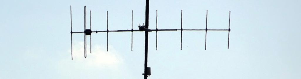 VHF-antenne. Foto.