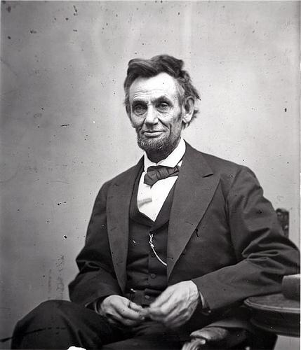 Abraham Lincoln. Photo.