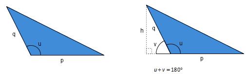 bilde av to trekanter