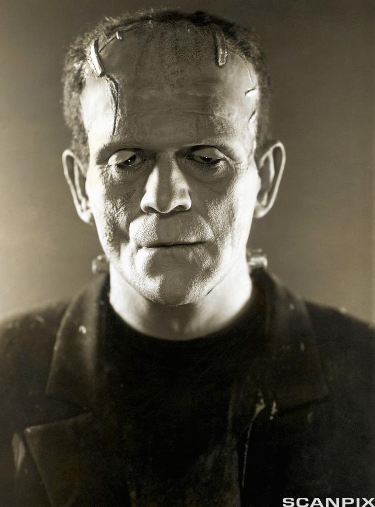 Boris Karloff som Frankenstein
