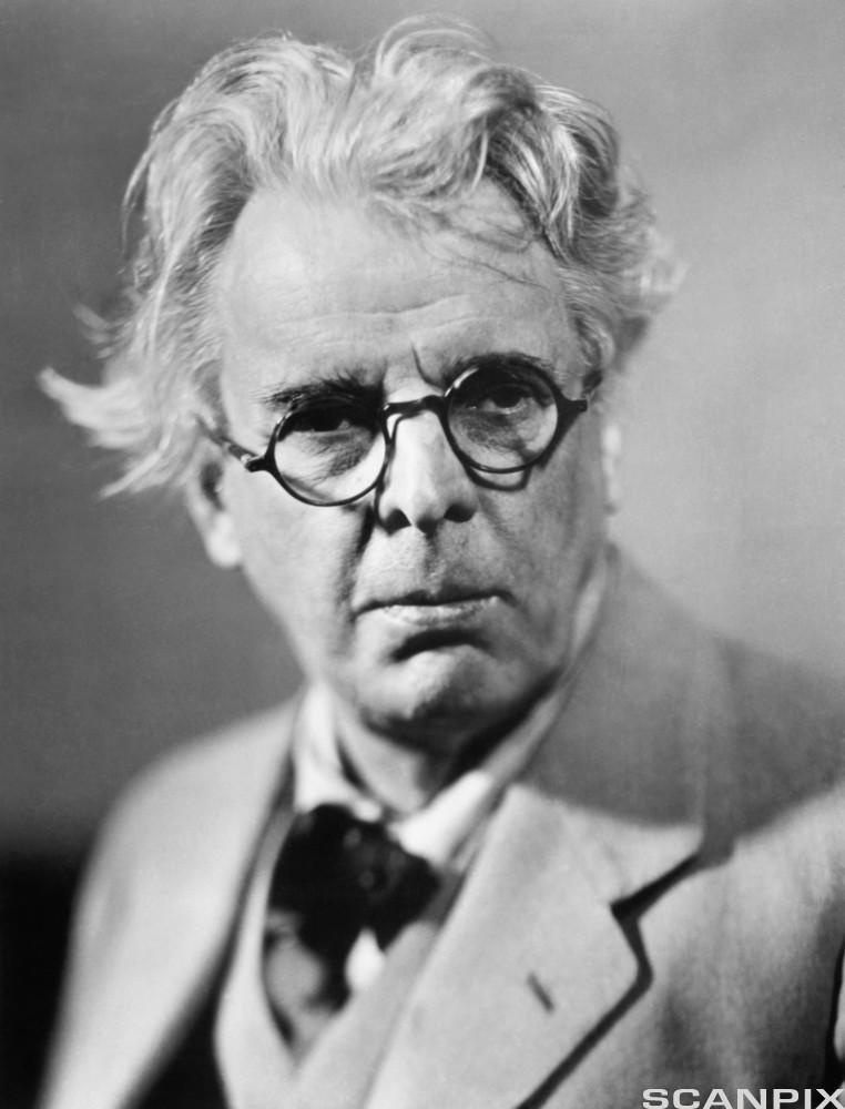 Irish Poet and Statesman William Butler Yeats