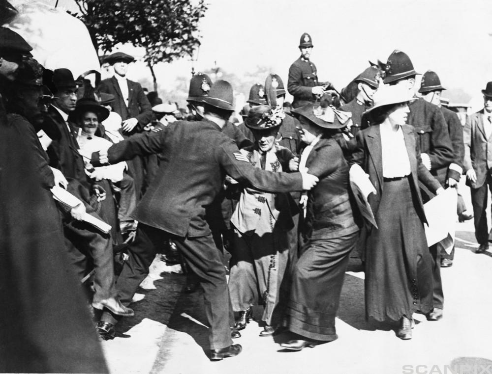 Police and Pankhurst Family