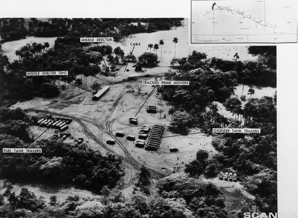 Aerial View of Cuban Missile Launch Site