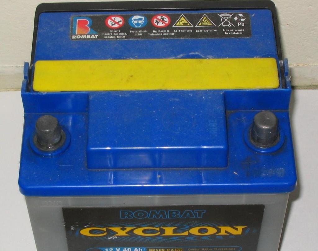 Bilbatteri. Foto.