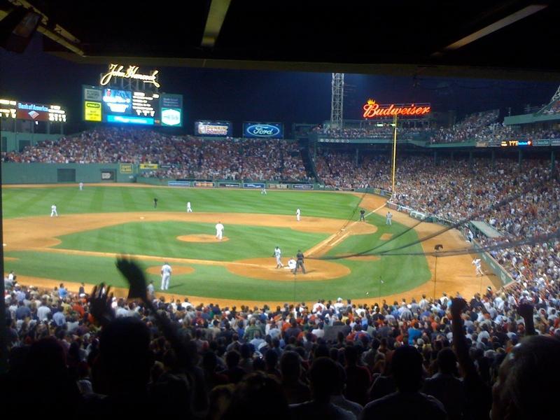 Boston Red Socks Stadion. Photo.
