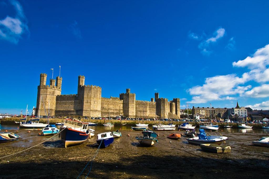 Caernarfon. Photo.