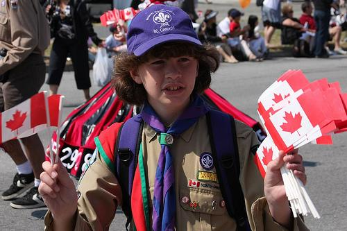 Canadian Boy Scout