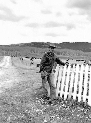Canadian settler. Photo.