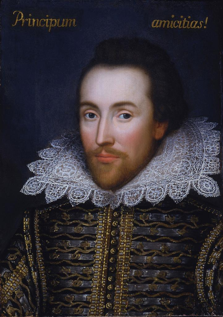 Cobbe painting of Shakespeare.art.