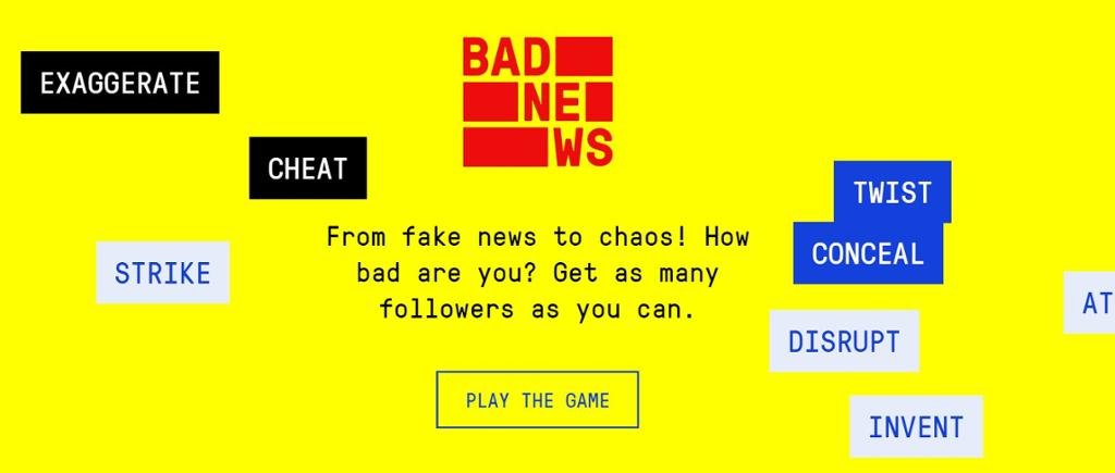 The Bad News Game