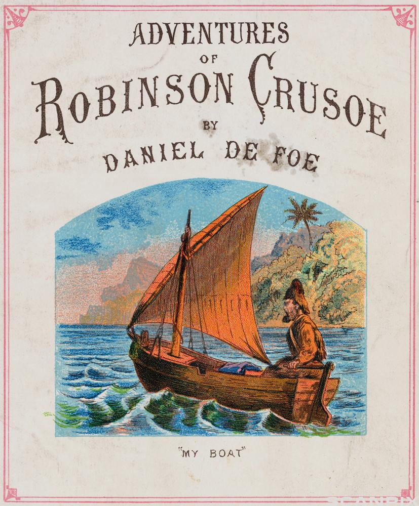 Cover for The Adventures of Robinson Crusoe