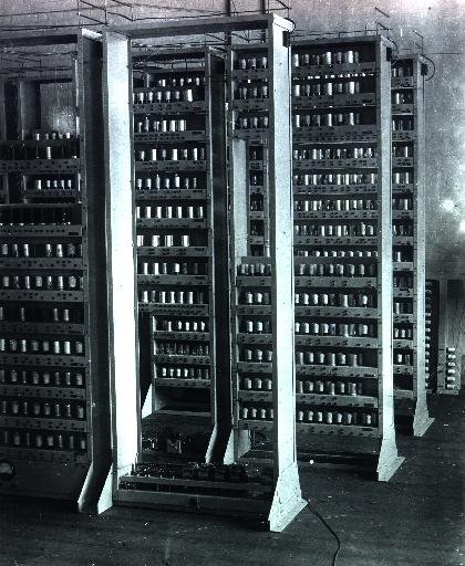 EDSAC - one of the first computers.photo.
