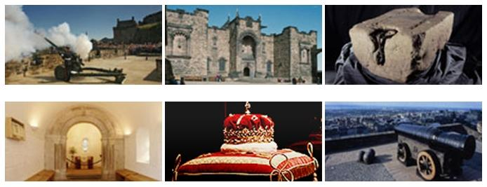 Edinburgh Castle Picture Quiz