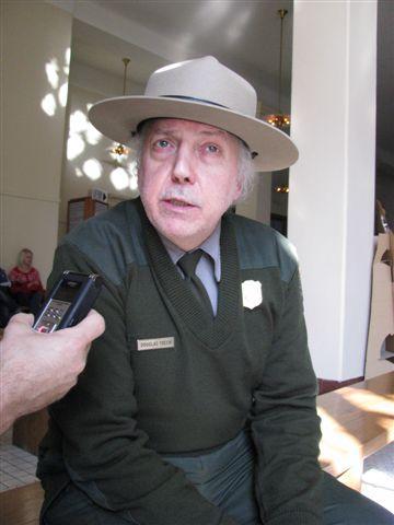 Ellis Island Park Ranger