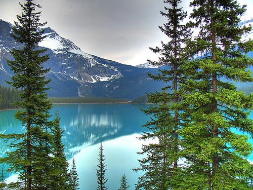 Emerald Lake, British Columbia. Photo.
