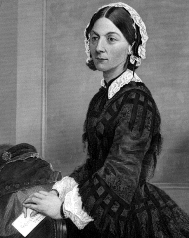 Florence Nightingale. Foto.