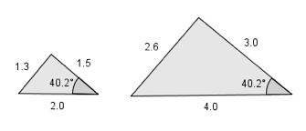 Bilde av to formlike treknater