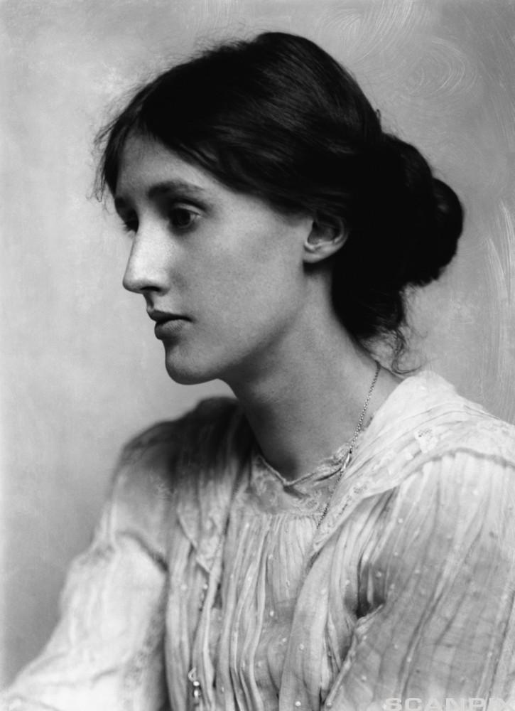 Portrett av forfatteren Virginia Woolf