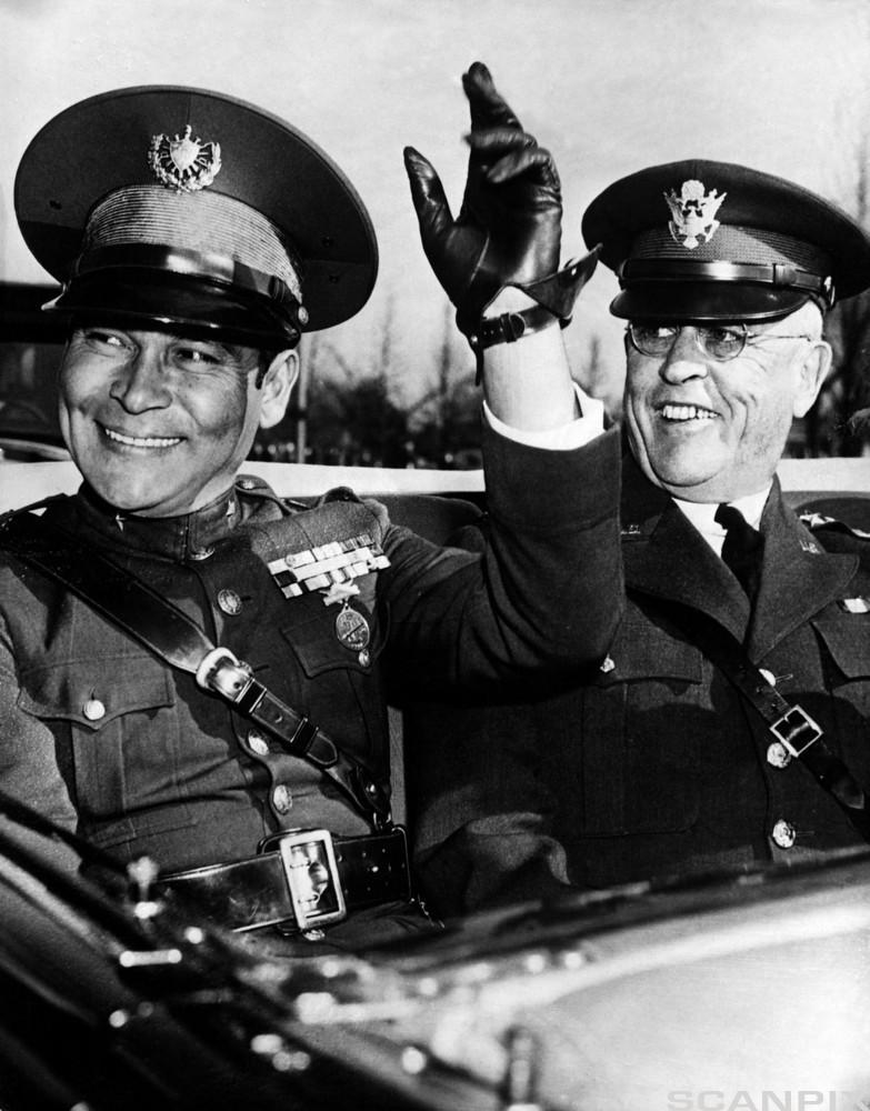 Fulgencio Batista Visits USA 1938