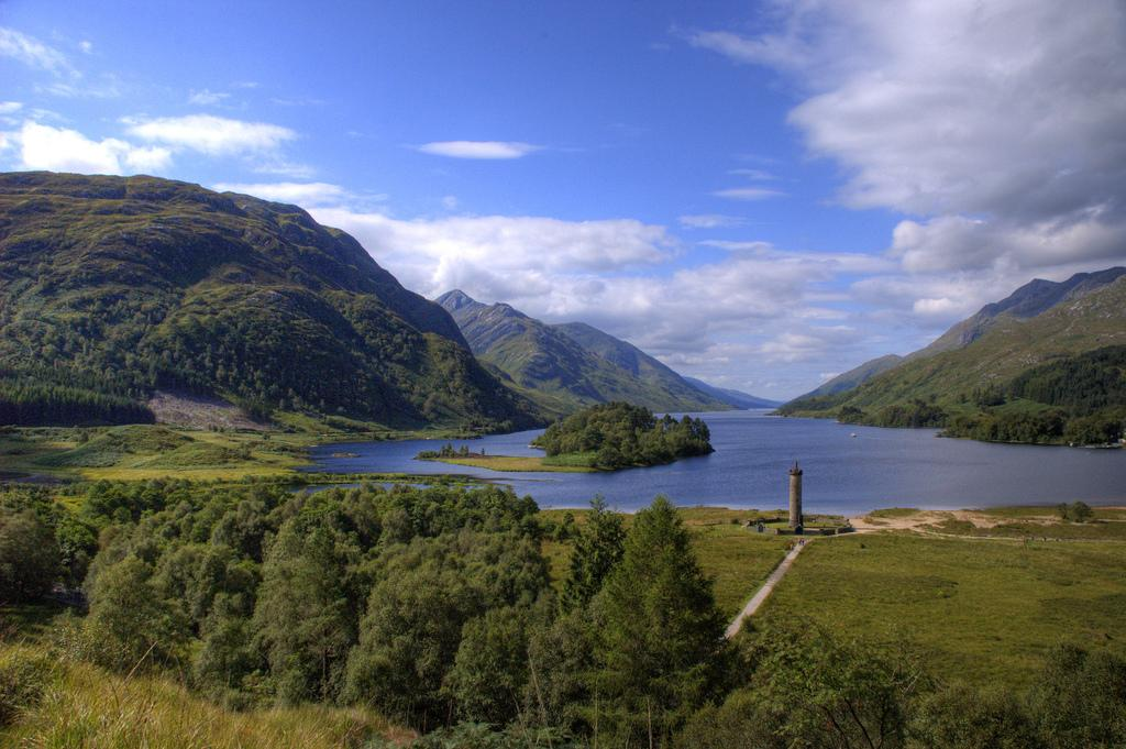 Highlands in Glenfinnan. Photo.
